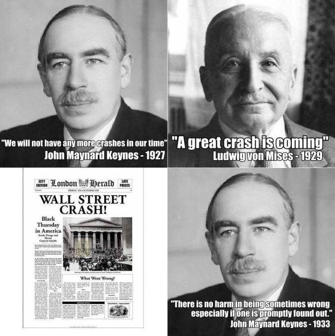 Keynes vs Mises