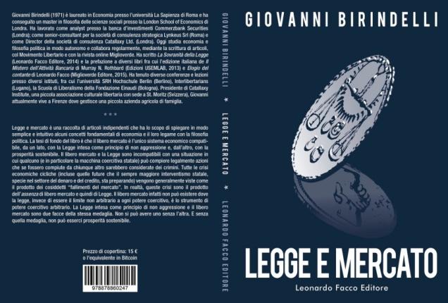 """""""Legge e mercato"""" di Giovanni Birindelli"""